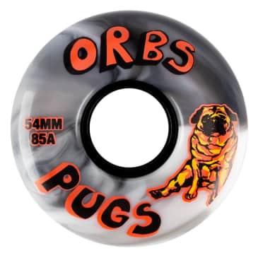 Welcome Skateboards - Orbs Pugs Wheels 85a 54mm
