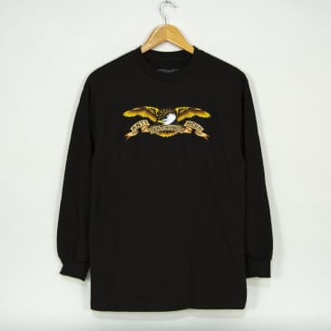 Anti Hero Skateboards - Eagle Longsleeve T-Shirt - Black / Multi