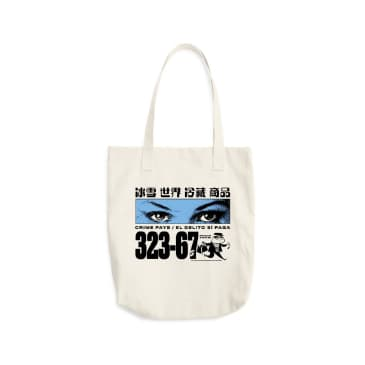 Cold World Frozen Goods Crime Pays Tote Bag - Natural