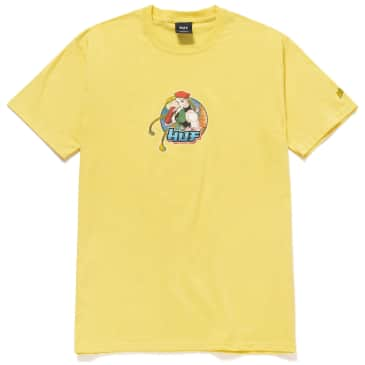 HUF x Street Fighter Cammy T-Shirt - Yellow