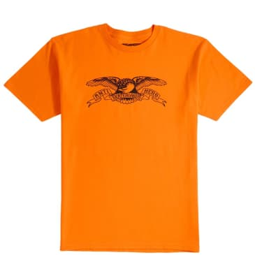 Antihero Basic Eagle T-Shirt - Orange / Black