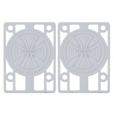 """Indy Riser Pads (white) 1/8"""""""