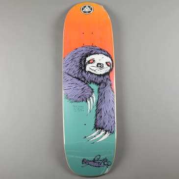 Welcome 'Sloth on Boline' 9.25' Deck (Teal / Yellow Stain)