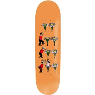 "Pass~Port Deck What are your thoughts ""Flowers"" 8.125"""