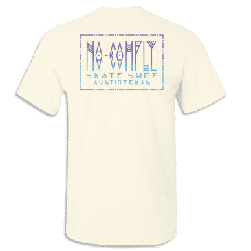 No-Comply Mexican Blanket Shirt - Cream
