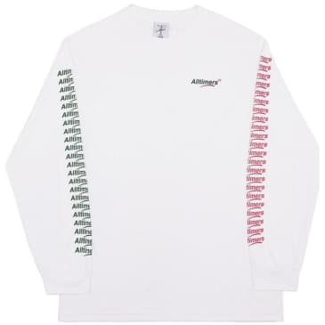 Alltimers Count It Up Long Sleeve T-Shirt - White