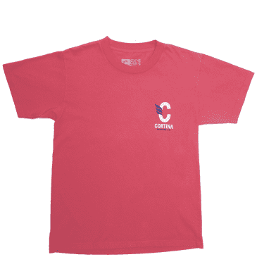 Cortina Bearing Co Stack Logo T-Shirt - Red