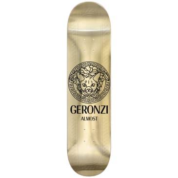 "Almost Skateboards - 8.5"" Max Geronzi R7 Runway Skateboard Deck - Gold"