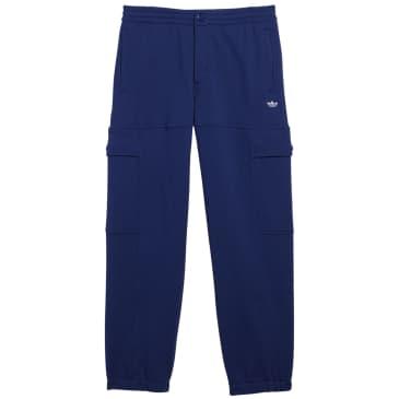 adidas Heavyweight Shmoofoil Utility Joggers - Victory Blue / White
