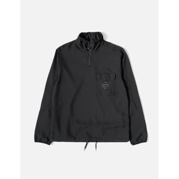 Soulland Marlon Tech Tracksuit Jacket – Black