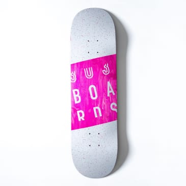 303 Boards - Speckled Box Logo Deck (Multiple Sizes)