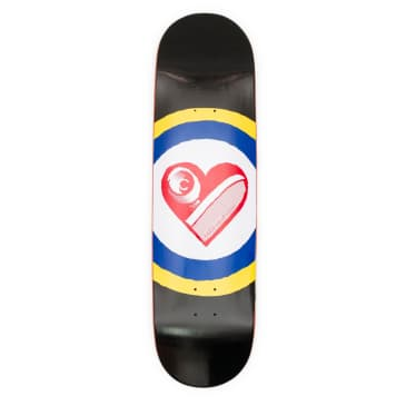 Free Dome Sk8 Heart Deck - 9.0""