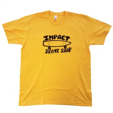 IMPACT Basic Logo Tee Gold