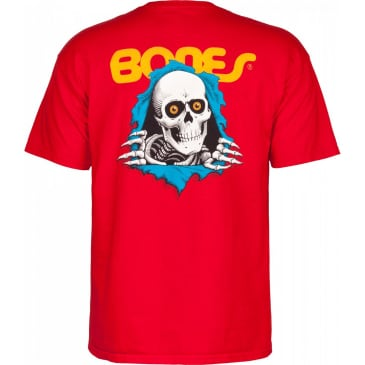 POWELL PERALTA Ripper Tee Red