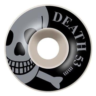 Death OG Skull Wheels Silver - 53mm