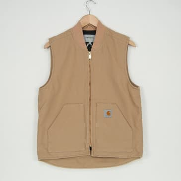 Carhartt WIP - Vest Jacket - Dusty Hamilton Brown (Rinsed)