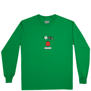 Frog Skateboards Ladybug Long Sleeve T-Shirt - Green