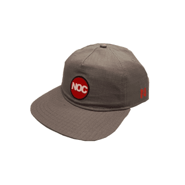 Nocturnal Noc Circle Logo Cap (Grey)