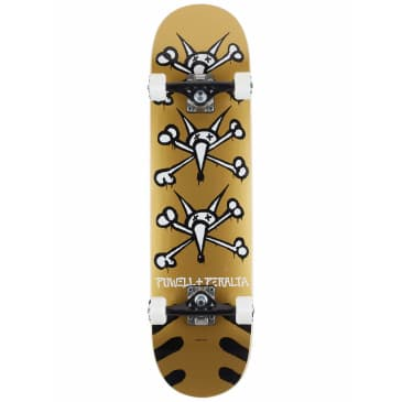 "Powell Peralta Vato Rats Gold Complete Skateboard - (8"" x 32.125"")"