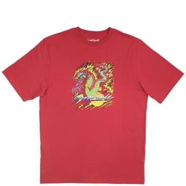 Yardsale Dragon T-Shirt - Cardinal