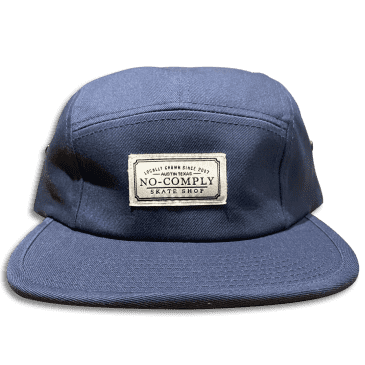 No-Comply Locally Grown 5-Panel Volley Hat - Navy