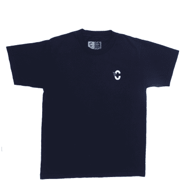 Cortina Bearing Co C Logo T-Shirt - Navy