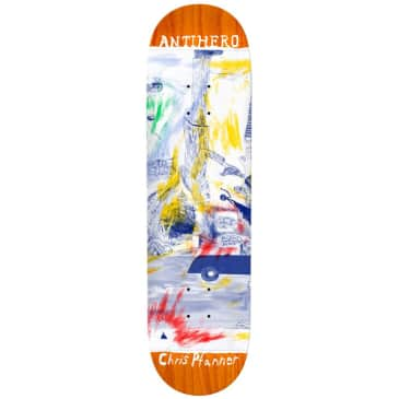 Anti Hero - Pfanner SF Then And Now - Skateboard Deck - 8.06''