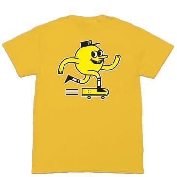 Blast Skates Classic Mascot T-Shirt - Yolk