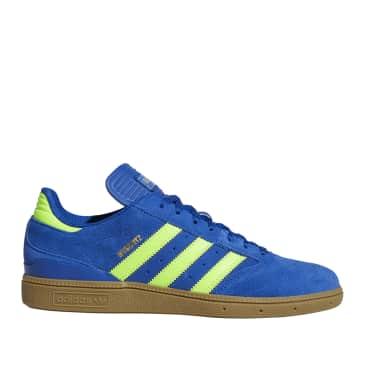 adidas Skateboarding Busenitz Shoes - Collegiate Royal / Solar Green / Gum
