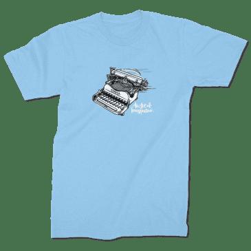Strangelove Skateboards Typewriter Shirt - Blue