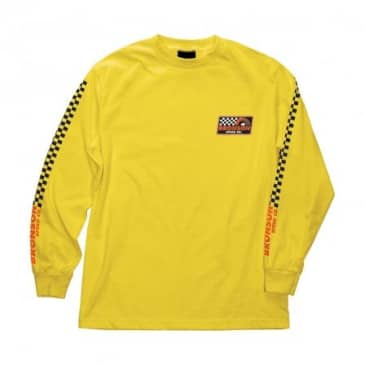 BRONSON VICTORY LAP L/S TEE - GOLD