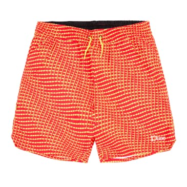 Dime Warp Shorts - Red