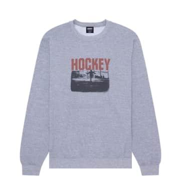 Hockey Allens Inferno Sweatshirt - Heather Grey
