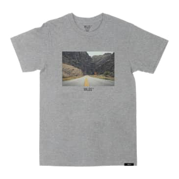 MILES - Hit The Road T-Shirt Heather Grey