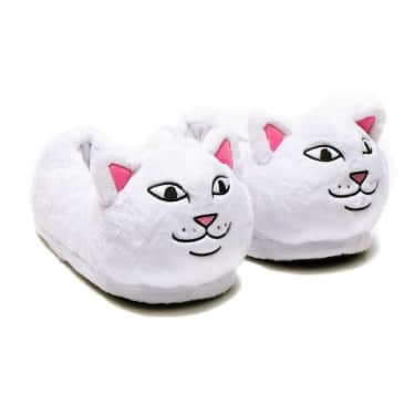 Ripndip Lord Nermal Slippers - White