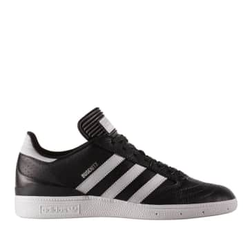 adidas Skateboarding Busenitz Pro Shoes - Black Leather
