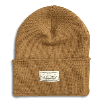 No-Comply Locally Grown Beanie Duck Brown