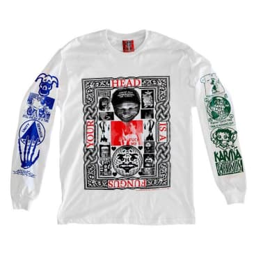 UDLI Editions - The Desktop #004 Long Sleeve - White