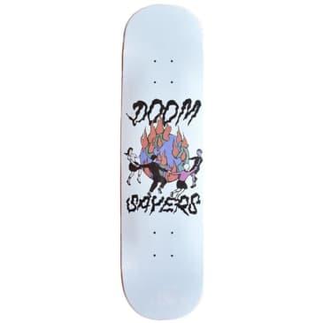 "Doom Sayers World On Fire Shovel Nose Skateboard Deck - 8.375"""
