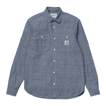 Carhartt WIP L/S Clink Shirt - Blue