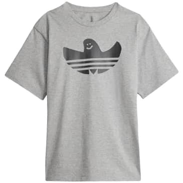 adidas skateboarding Shmoofoil Logo T-Shirt - Heather Gray