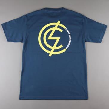 CSC Mod Two Tone T-Shirt - Navy