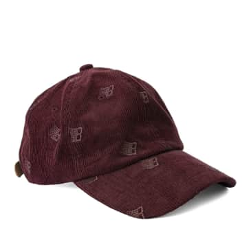Bronze 56k Allover Embroidered Cap - Maroon