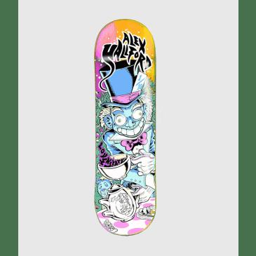 """Lovenskate Alex Halford """"Tea Party"""" Skateboard Deck 8.5"""""""