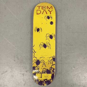 Heroin Skateboards Tom Day Giallo Deck 8.5