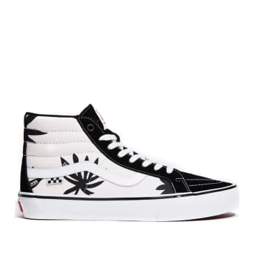 Vans Skate Sk8-Hi Reissue Shoes - Grosso '88 Black / Palms