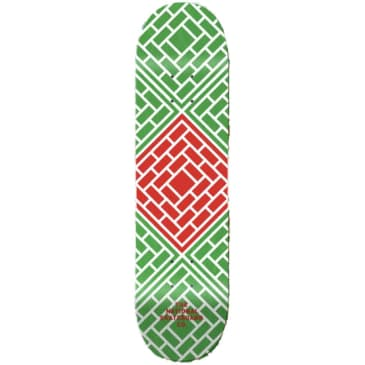 """The National Skateboard Co. - Classic Red (Lucky Dip Stain) - High Concave - Skateboard Deck - 8.25"""""""