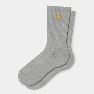 Carhartt WIP - Chase Socks - Grey Heather