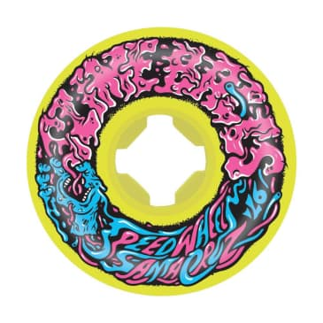 Slime Balls Wheels Vomit Mini 2 Yellow 97a 54mm