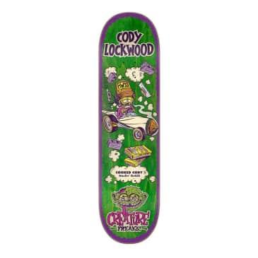 "Creature Lockwood Freaks 8.25"" Deck"